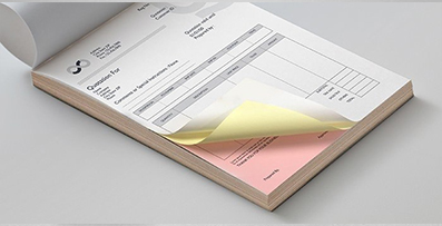 Carbonless NCR Form Printing with Orient Printing Press in Dubai