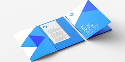 Presentation Folders Printing with Orient Printing Press in Dubai